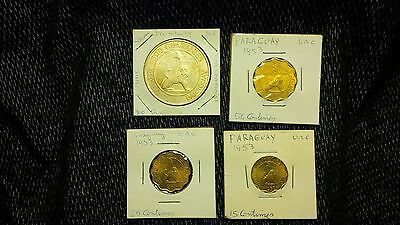 UNC Foreign Paraguay with Silver Lot !!