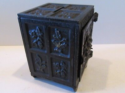 Security Safe Deposit (Antique Cast Iron Still Bank)