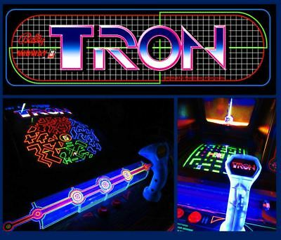 Arcade Machine,-Coin Operated,-Amusement,- Bally Midway,-,Tron,-,Refurbished/New