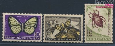 Romania 1586-1588b unmounted mint / never hinged 1956 Harmful Insects (8688308