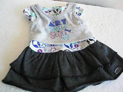"""Authentic American Girl 18"""" Doll Z YANG Dress & Tee Outfit 2 pc"""