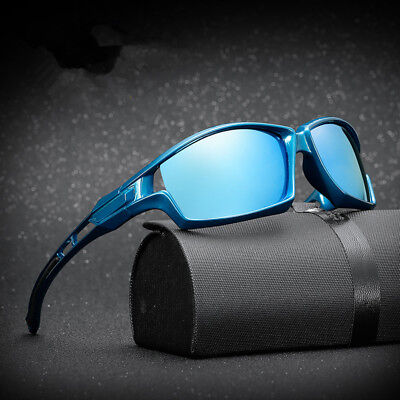 New Men's Sunglasses Polarized Lens UV400 Driving Outdoor Sports Eyewear Glasses