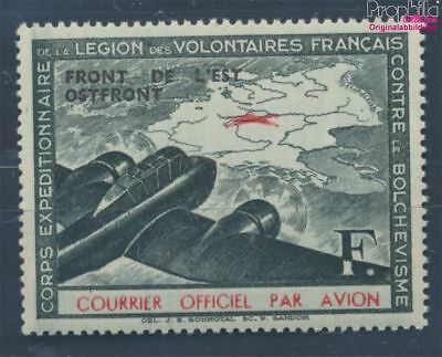 France  German cast WW2 IV unmounted mint / never hinged 1942 LVF (7895867