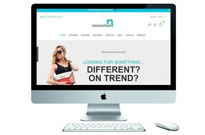 BRAND NEW! Online E-commerce Shop Business For Sale – On Trend Assorted Products