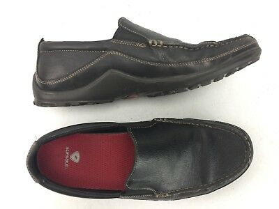 62169273445a7 COLE HAAN SHOES Men's Loafers Black Leather Dress Casual Slip On VTG ...