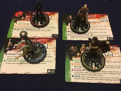 HORRORCLIX Freakshow Lot 014, 037, 084 Man in Black, 086 Tracker