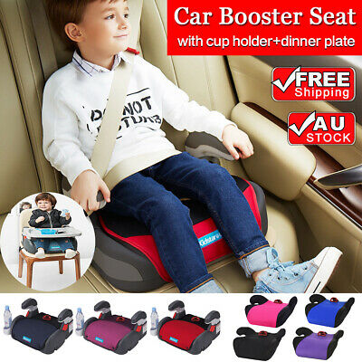 2x New Car Booster Seat Chair Cushion Pad 3-12 Years Children Child Kids Sturdy