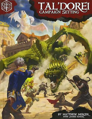 Critical Role: TalDorei Campaign For 5th Edition by Matthew Mercer   Hardcover