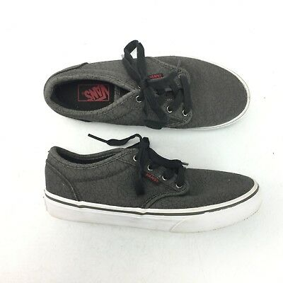 acdf07446f VANS SKATE OFF The Wall Boys Girls Kids Youth Sneakers Shoes Size 12 ...
