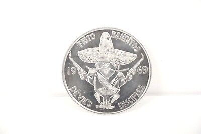 Frito Banditos 1969 Devil's Disciples Motorcycle Club Token Crescent City Krewe