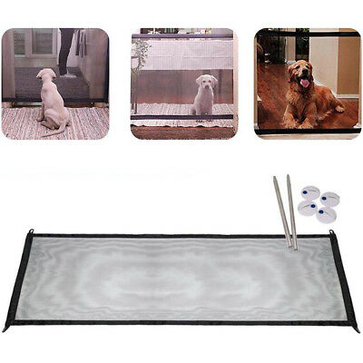 Mesh Magic Gate Portable Folding Guard Safety Barrier Enclosure for Pet Dog Cat