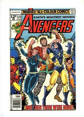 Avengers #173 - Marvel 1978 - VFN - Pence - Collector App - Guardians of the Gal
