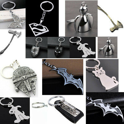 Creative Man Key Chain Ring Keychain Metal Keyring Key Fob Metal Gift Car Charm