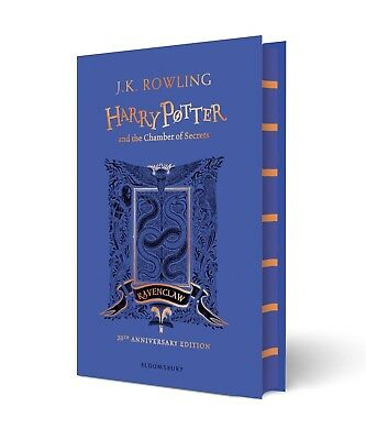Harry Potter and the Chamber of Secrets – Ravenclaw Edition By Rowling (Hardcvr)