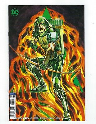 Green Arrow # 42 Variant Cover NM DC