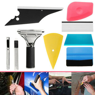 8 in 1 Squeegee Car Window Tinting Auto Film Wrapping Install Applicator Tools