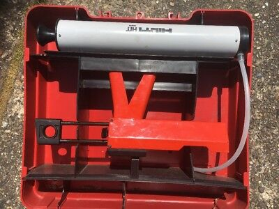 Hilti HIT Resin Gun Skeleton Gun Chemical Anchor Fixing And Blow Pump.