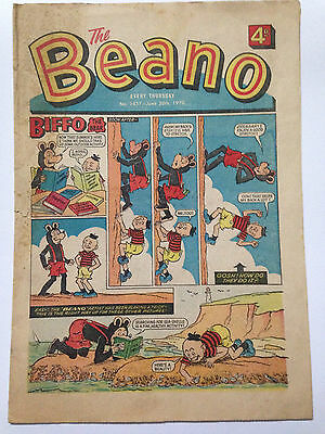 DC Thompson THE BEANO Comic. Issue 1457 June 20th 1970 **Free UK Postage**