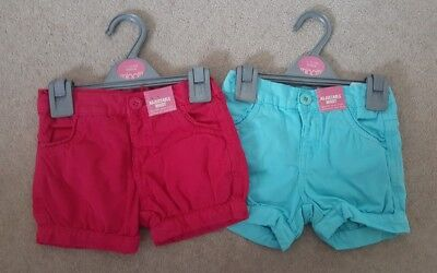 Girls Minoti Shorts ages 12 months up to 4 years
