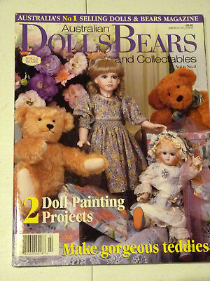 Dolls Bears Collectables Magazine Vol 6 No 2