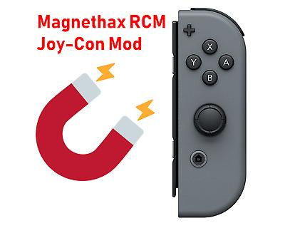 Nintendo Switch RCM Joy-Con Magnethax (safe and no damage unlike a jig)