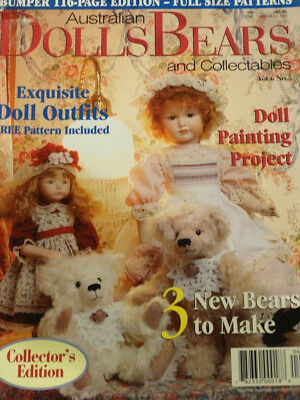 Dolls Bears Collectables Magazine Vol 6 No 5
