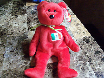 TY BEANIE BABY OSITO THE MEXICO BEAR RETIRED 1999 (Please see pics)