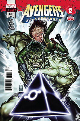Avengers #686 Marvel Legacy - 1St Print - Bagged & Boarded. Free Uk P+P
