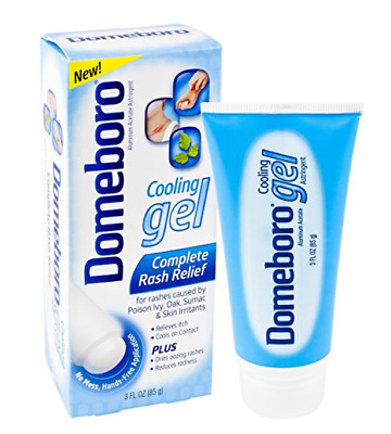 Domeboro Cooling Gel Complete Skin Rash Relief for Poison Ivy 3oz Exp 1/2018