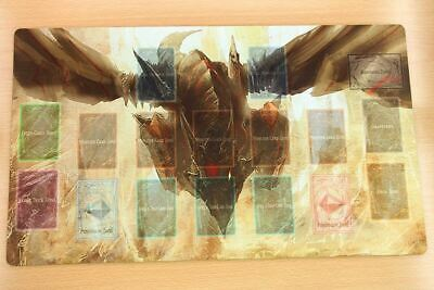 E34+ Free Mat Bag Red-Eyes Darkness Metal Dragon Yugioh Playmat With Card Zones