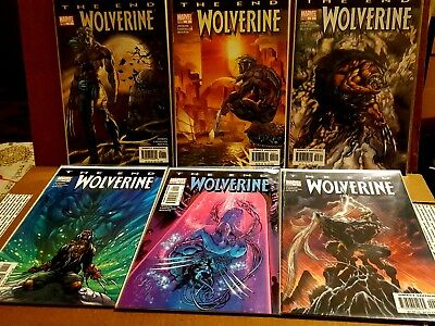 Wolverine The End 1 2 3 4 5 6 Complete Run Marvel X-Men 2004 Bagged & Boarded
