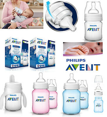 Baby Newborn Bottle Teat Vent 125ml 260ml Cup Trainer Philips Avent Classic