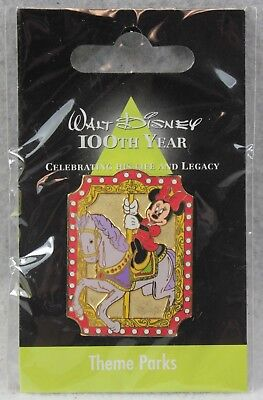Disney JDS Japan Walt 100th Year Classics LE Pin Theme Parks Carousel Minnie