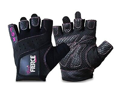 Black pink. Weight Lifting gloves Wrist Wrap Strap Women. Sport gloves fitness