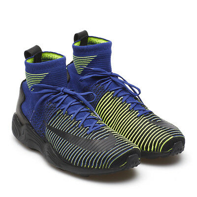 NIKE ZOOM MERCURIAL XI Flyknit Size 12   844626 401 Deep Royal Blue Black-Volt  -  65.00  59cdf4e0d