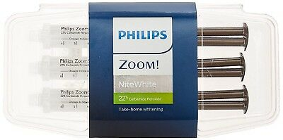 Philips Zoom! NiteWhite ACP 22% Teeth Whitening 3 X 2.4ml Syringe