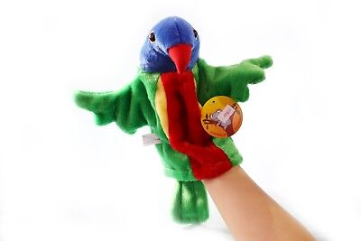 Parrots hand puppet Australia Animals Collections Aussie Gift for Kids souvenir