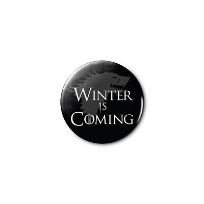 Winter Is Coming (Game of Thrones) 1.25in Pins Buttons Badge *BUY 2, GET 1 FREE*