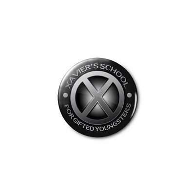 """Xavier's School for Gifted Youngsters(X-Men) 1.25"""" Pins Buttons BUY 2/GET 1 FREE"""