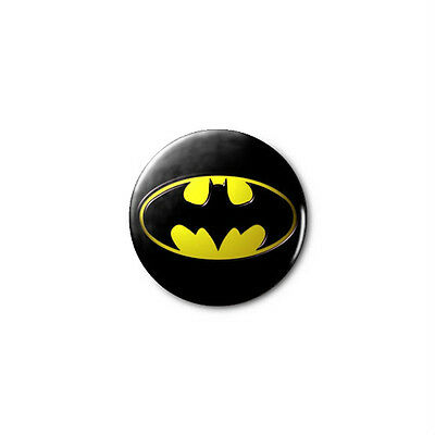 Batman Logo (DC)  1.25in Pins Buttons Badge *BUY 2, GET 1 FREE*