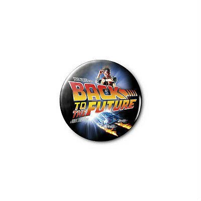 Back To The Future 1.25in Pins Buttons Badge *BUY 2, GET 1 FREE*