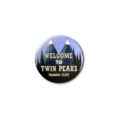 Twin Peaks 1.25in Pins Buttons Badge *BUY 2, GET 1 FREE*