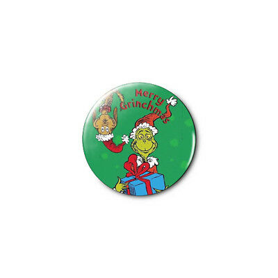 Grinch Christmas (a) 1.25in Pins Buttons Badge *BUY 2, GET 1 FREE*