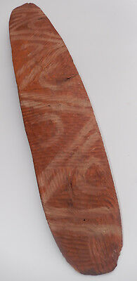 Old Aboriginal Incised and Ochre Painted Parrying Shield