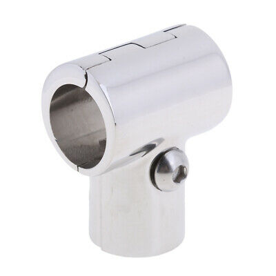 "316 Stainless Steel Boat Marine Handrail Fitting 90 Degree Tee 1"" 25mm"