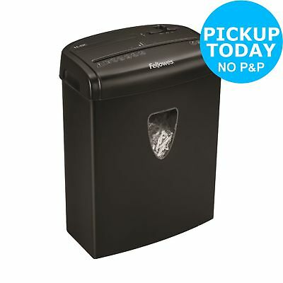 Fellowes 8C 8 Sheet 14L Cross Cut Shredder - Black.