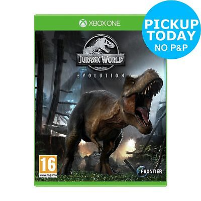 Jurassic World Evolution Microsoft Xbox One Game - 16+ Years