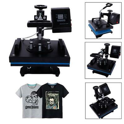 "12"" x 10"" DIGITAL Heat Press Machine for T-shirts/ Garments / Bags/ Mouse Mats"