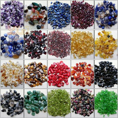 Hot Glamour Natural Purple Yellow Red Agate Tourmaline Crystal Gravel Decoration