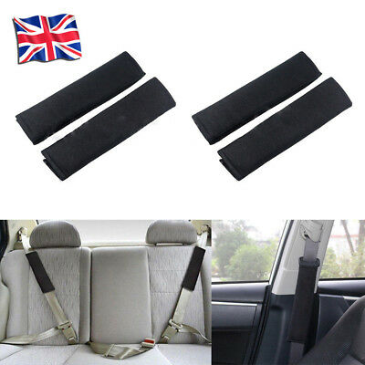 4X Car Seat Belt Pads Harness Safety Shoulder Strap BackPack Cushion Covers kids